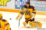 Minnesota Gophers goalie Kent Patterson