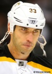 Boston Bruins defenseman Zdeno Chara vs. Minnesota Wild