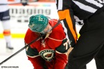 Minnesota Wild defenseman Tom Gilbert vs. Florida Panthers